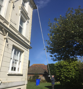gutter cleaning for flats uckfield