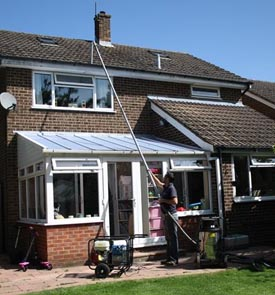 gutter cleaning homes uckfield